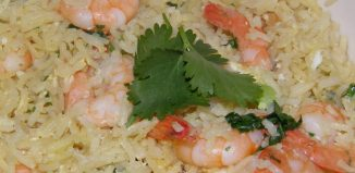 Prawn and Garlic Fried Rice