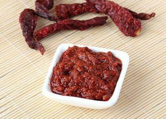 Red Chilli Chutney Recipe