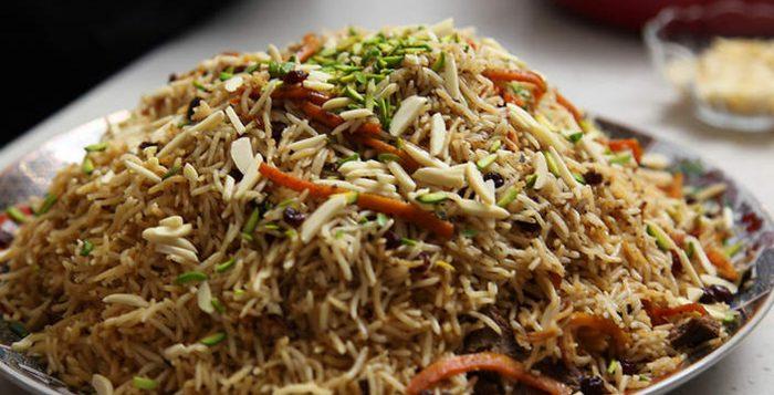 Afghani Pulao / Pilaf Recipe