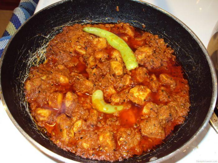 Recipe of Chicken Achar Gosht