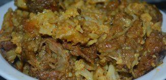Gobi Gosht Recipe